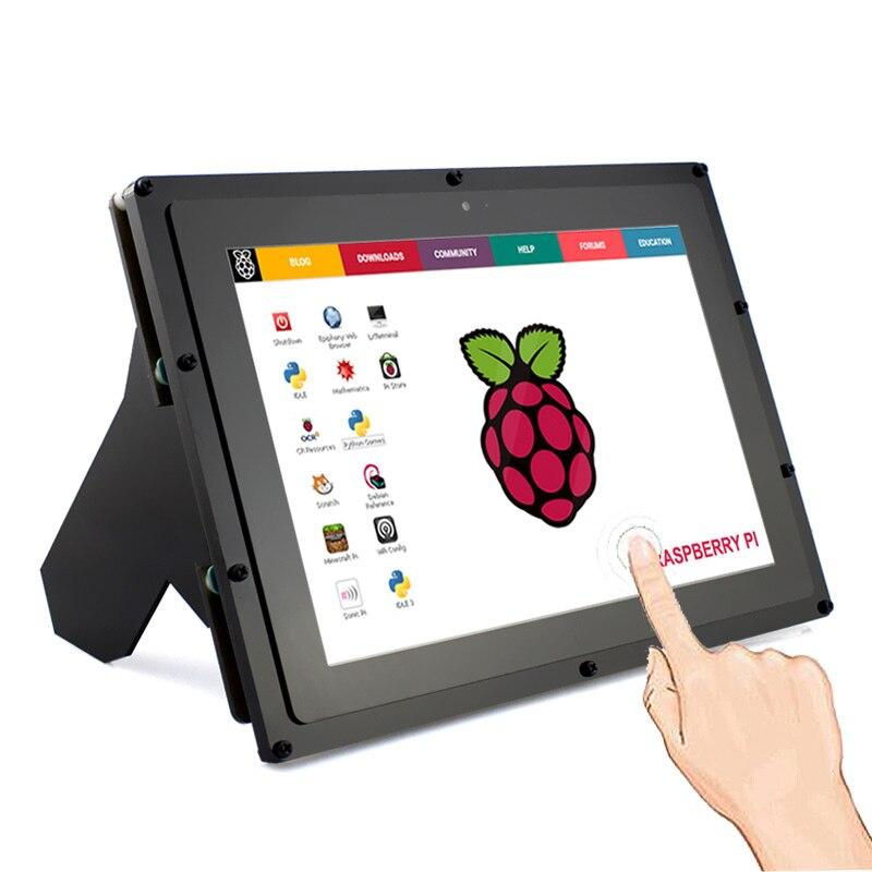 Elecrow Raspberry Pi Écran IPS 10.1 Pouce Écran Tactile HDMI Moniteur LCD 1280*800 Affichage pour Raspberry Pi 3 2 Windows 10/8/7