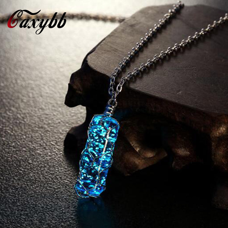 Caxybb fashion New Creative Luminous Crystal Cylindrical Pens
