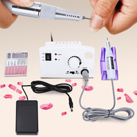 New Professional 30000rpm Electric Nail Drill Machine Manicure File Bit Kit Tools Grinding Manicure False Electric