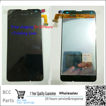 Best quality Original New LCD display +Touch Screen digitizer For Nokia Lumia 550,Black Test ok free shipping&In stock!