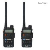 2PCS BaoFeng UV 5R Walkie Talkie 136 174 400 520Mhz VHF UHF DUAL BAND Two Way