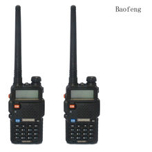2PCS BaoFeng UV-5R Walkie Talkie 136-174 /400-520Mhz VHF/UHF DUAL-BAND Two Way Radio(China)