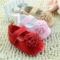 Three Dimensional Flower Fancy Baby Girl Shoes Baby First Walker Shoes