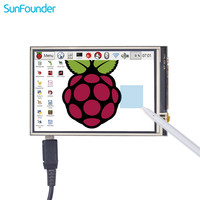 3 5 Inch TFT LCD Display Touch Screen Monitor For Raspberry Pi 3 2 Model B
