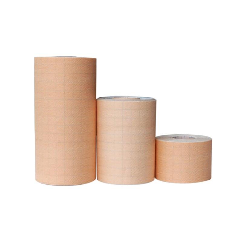 Image 2 - 2 roll Adhesive Wound Dressing bandage Medical Fixation Tape Bandage breathable spunlace non woven fabric anti allergicEmergency Kits   -
