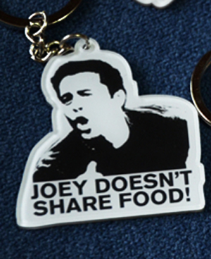 New Friends TV Show Ross Joey Pheobe Monica Key Ring KeyChain For Lovers