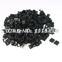200 Pcs FC 10P 10 Pin Male IDC Socket Plug Ribbon Cable Connector Black
