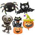 Halloween Kürbis Ghost Luftballons Halloween Dekorationen Spinne Folie Luftballons Aufblasbare Spielzeug Bat Globos Halloween Partei Liefert