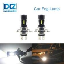 DXZ 1X Авто Противотуманные фары h4 led 12 v светодиодные лампы H4 canbus 12 SMD дневные ходовые огни для автомобиля поворот Парковка лампы Белый DRL 6000 K