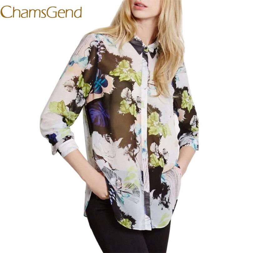 Blouse Cotton Blend Women Sexy Floral Flower Printing Blouse Long Sleeve Loose Shirts V Neck Tops B15 A#487 Women's Clothing