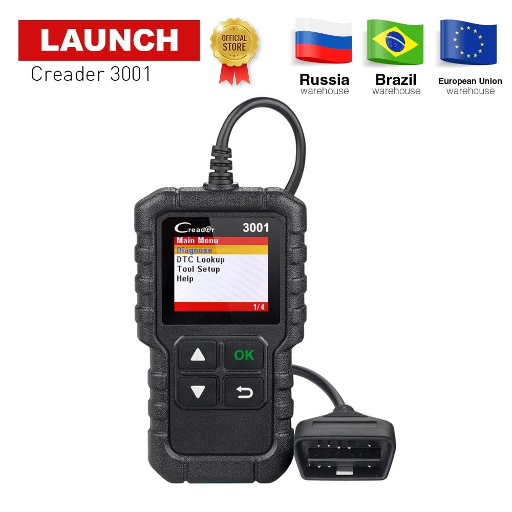 STARTEN X431 CR3001 OBD2 Auto Code reader Scanner unterstützung volle obdii obd 2 diagnose funktion mit Multi-sprache pk ELM327 NL100