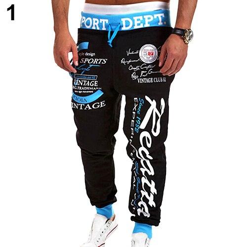 2016 Neue Produkt Männer Brief Gedruckt Sweat Pants Hosen Jogginghose