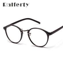 1bc72848de508 Ralferty Fashion Vintage Myopia Optic Eyeglasses Frames Women s Utra-light Circle  Glasses Frame With Lens Round Oculos Black 137