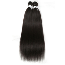 Magic Straight Synthetic Weave 2 Pcs/lot Natural Yaki Hair B