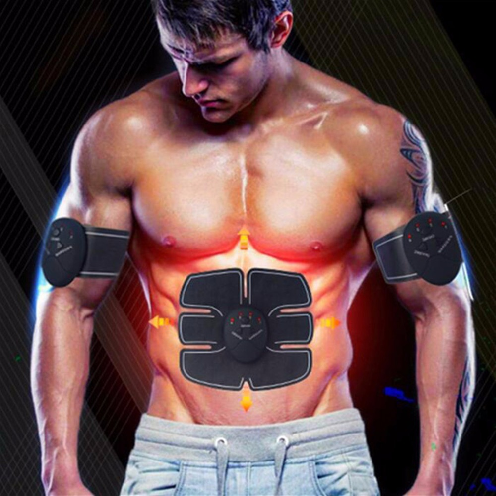 Wireless Muscle Stimulator EMS Stimulation Body Slimming Beauty Machine Abdominal Muscle Exerciser Training Device Body Massager kingdom kd 9900 ems rf electroporation beauty device
