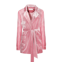 Casual velvet women s suit elegant 2017 spring autumn full pink blazers and jackets parka ladies.jpg 250x250