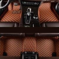 kalaisike Custom car floor mats for Skoda all models octavia fabia rapid superb kodiaq yeti car styling car accessories