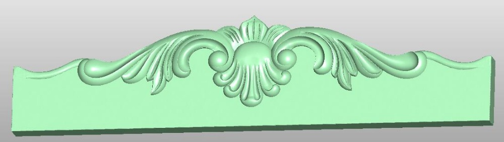 3D Model STL Format File For Cnc Router Engraving Furniture Sofa Cabinet Chair Leg Pattern Artcam 834