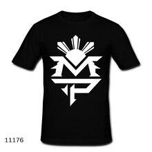 Manny Pacquiao MVP T Shirt 100% Cotton Short Sleeve MMA T-shirt Fight Floyd Mayweather Fashion Tshirt