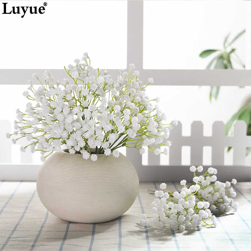 20 cm Flowers Bouquet   Real Touch Sky Stars Flower  Branch New Home Wedding Decoration