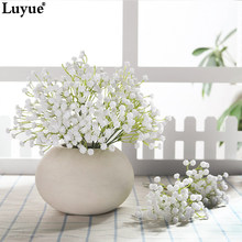 20 cm Flowers Bouquet Real Touch Sky Stars Flower Branch New Home Wedding Decoration(China)