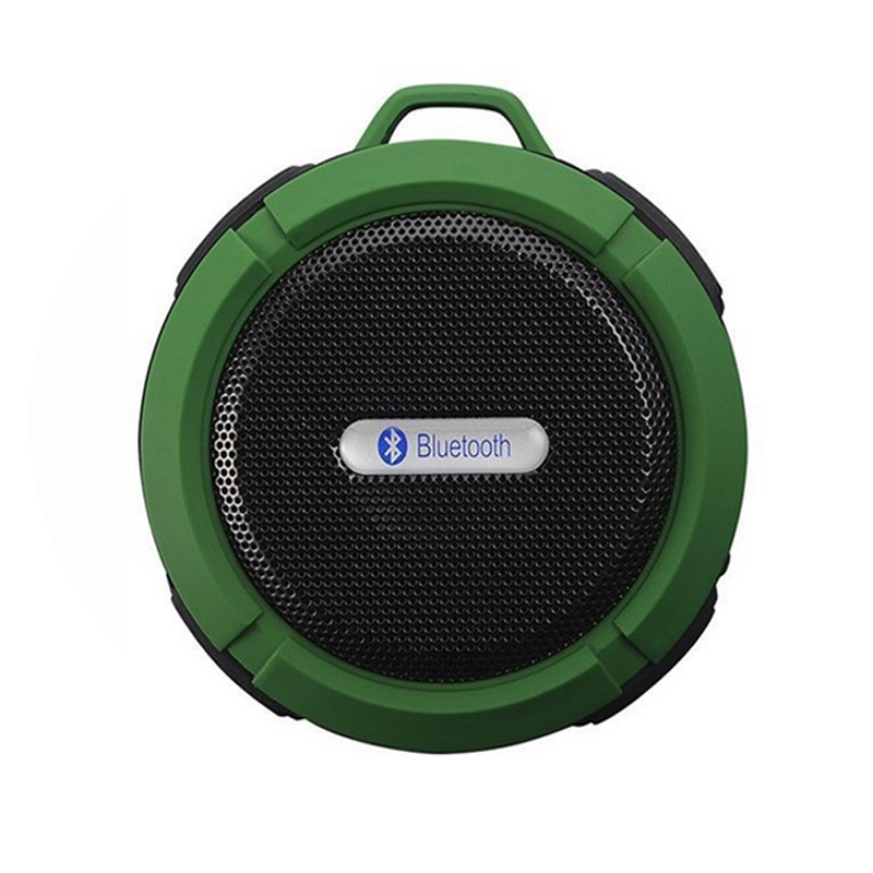 New C6 Portable Wireless Bluetooth Speaker With Calls Handsfree and Suction Cup Waterproof Bluetooth Shower Speaker. speakstick waterproof bluetooth shower speaker talk wireless