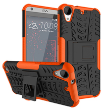 Heavy Duty Armor Shockproof With Stand Function Cover Cases For HTC 530 630 825 desire728 one A9 desire828 Advanced ball pattern