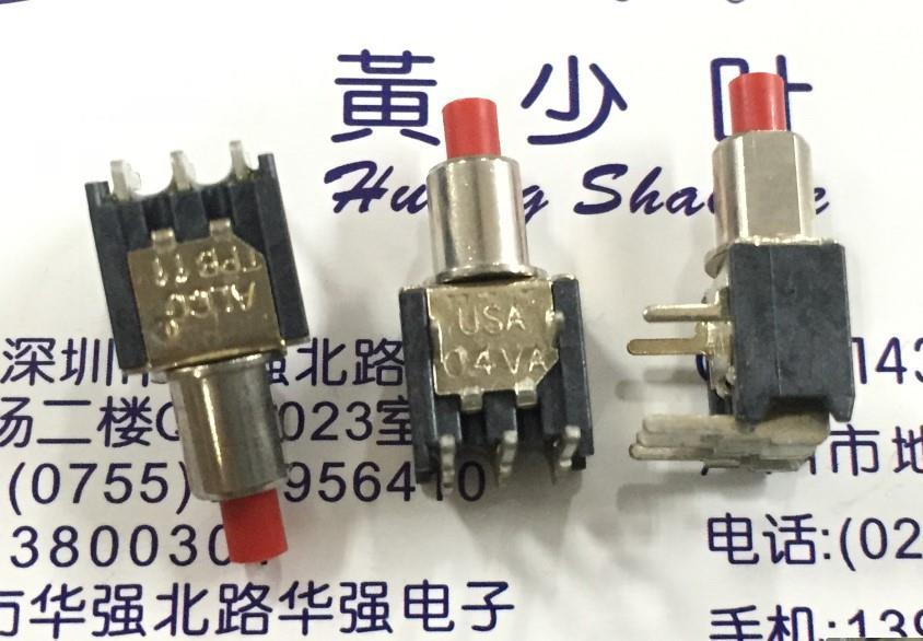 10 PCS/LOT ALCO American TPB11FGRA2 bouton interrupteur de détection normalement ouvert normalement fermé commutateur 0.4VA 20 V