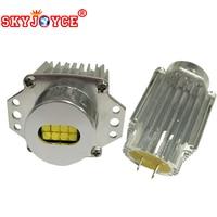 SKYJOYCE 1 pair High Power 80W DRL E91 E90 LED marker led angel eyes halo ring led kits 6500K E90 daytime running lights