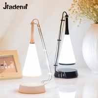 LED Night Light Wireless Bluetooth Speaker Adjustable Audio USB Recharge Touch Control Dimmable Table Lamp Birthday