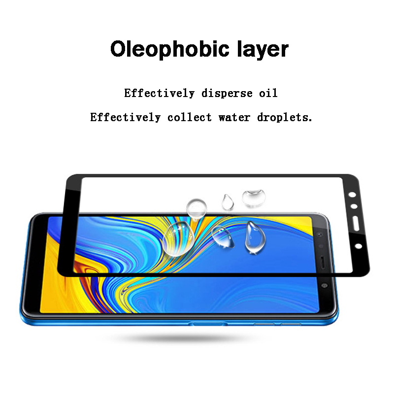 Nicotd New 9D For Samsung A8 A7 A9 J8 2018 Tempered Glass For Samsung Galaxy A6 Plus J6 A7 A9 J2 Pro 2018 Screen Protector Film (3)