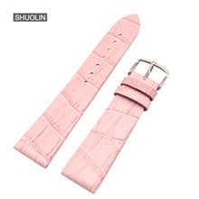 Multicolor Watch Straps 12mm/14mm/16mm/18mm/20mm/22mm 2017 new bracelet watchstrap watchbands 18MM watchband for women J030-PI
