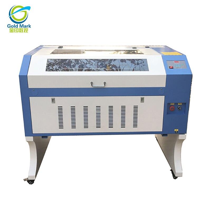 Free Shipping TS6090 CO2 100W  Laser Engraving Machine Free Shipping By Sea Cnc Laser Machine