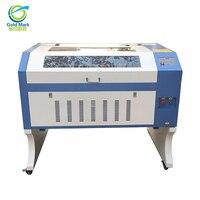 Gratis Verzending TS6090 CO2 100 W laser graveermachine gratis verzending door zee cnc Laser Machine