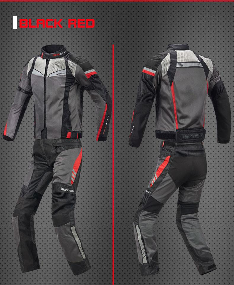 Homme complet du corps moto veste et pantalon ensemble armure Motocross course protection coupe-vent vitesse moto S/M/L/XL/XXL/XXXL