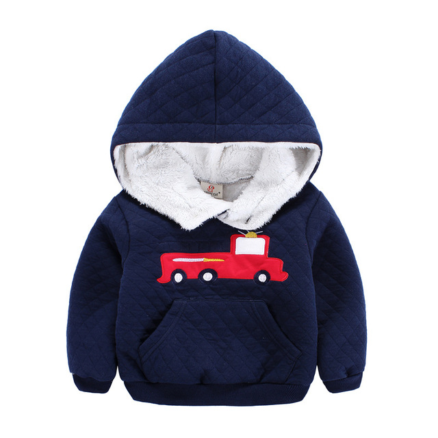 boys hoodies and sweatshirts 4colours 2017 children warm fleece inside kids sweatshirt children's carnival costumes for the boy