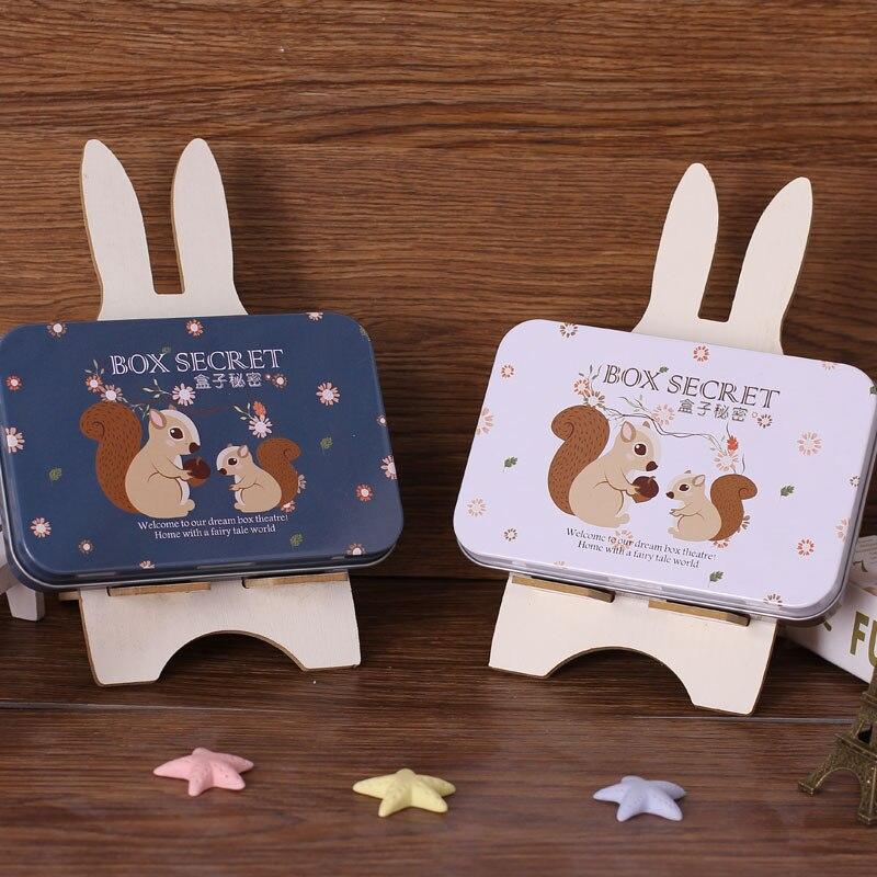 Diy Doll House Kit con Tin Box Theatre Dollhouse Miniatura Juguetes - Muñecas y peluches - foto 5