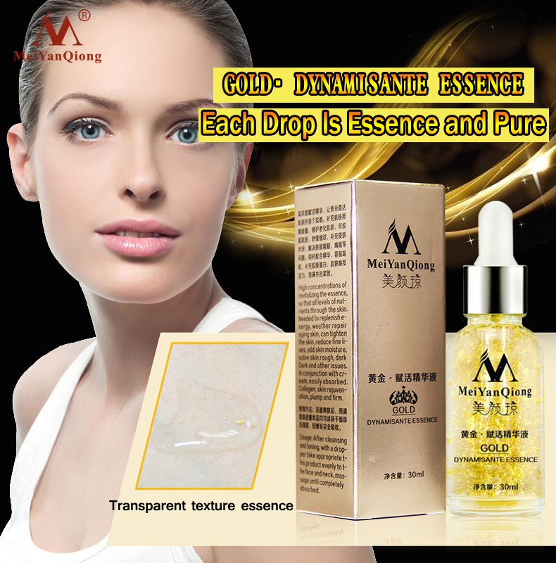 Skin Care 24K Gold Essence Day Cream Anti Wrinkle Face Care Anti Aging Collagen Whitening Moisturizing Hyaluronic Acid Ance