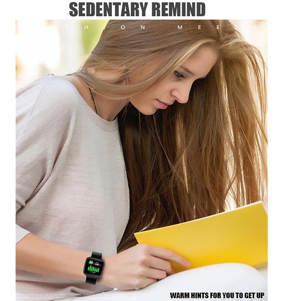 Timethinker Smart Watch Bracelet Men Women Sports Wristwatch Reloj Blood Pressure Heart Rate Monitor