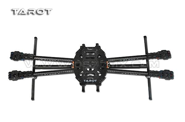 Tarot 650 Carbon Fiber 4 Axis Aircraft Fully Folding FPV Quadcopter Frame Kit TL65B01 f05548 iron man 650 carbon fiber 4 axle aircraft fully folding fpv quadcopter frame kit tl65b01 fs