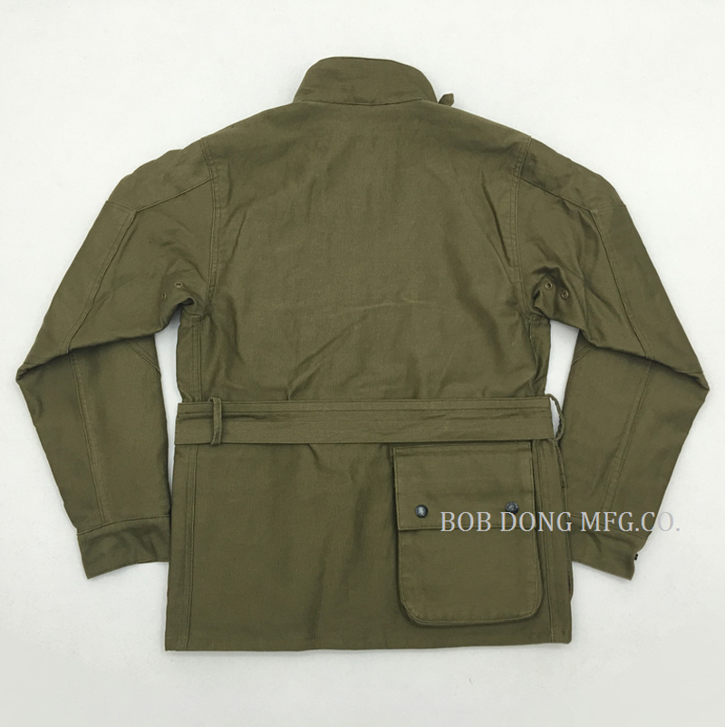2018 Vintage Motorcycle JKT Five Pockets Waist Stand Collar Cotton Jacket Replica Winter Mens Rider Coat N-1 Fabric 36-44#