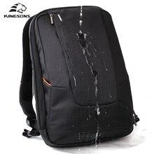 Kingsons Brand Waterproof Men Women Laptop Backpack 15 6 inch Notebook Computer Bag Korean Style School