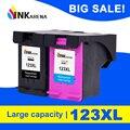 INKARENA 123XL Замена для HP 123 XL чернильный картридж для HP 123 Deskjet 1110 2130 3630 3632 3638 4520 4522 картриджи для принтера