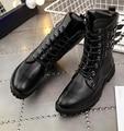 Chic Mens Vestido Sapatos Inglaterra Do Punk Fivela Na Altura Do Joelho Botas De Cano Alto Cavaleiro de Equitação Preto Exótico Metálico Zipper Up Gothic Emo
