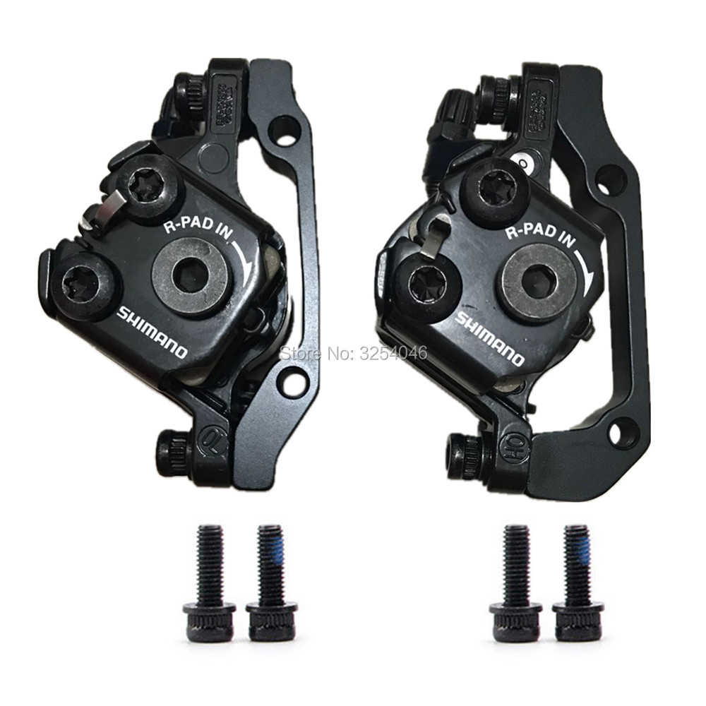 Shimano Tourney BR Tx805 Mechanical Disc Brake Calipers Pair Set for sale online