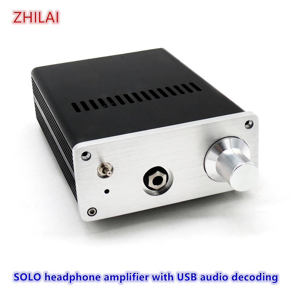 PK Lehmann SOLO headphone amplifier SOLO-2 Professional headphone amplifier HiFi sound quality with USB audio decoding image