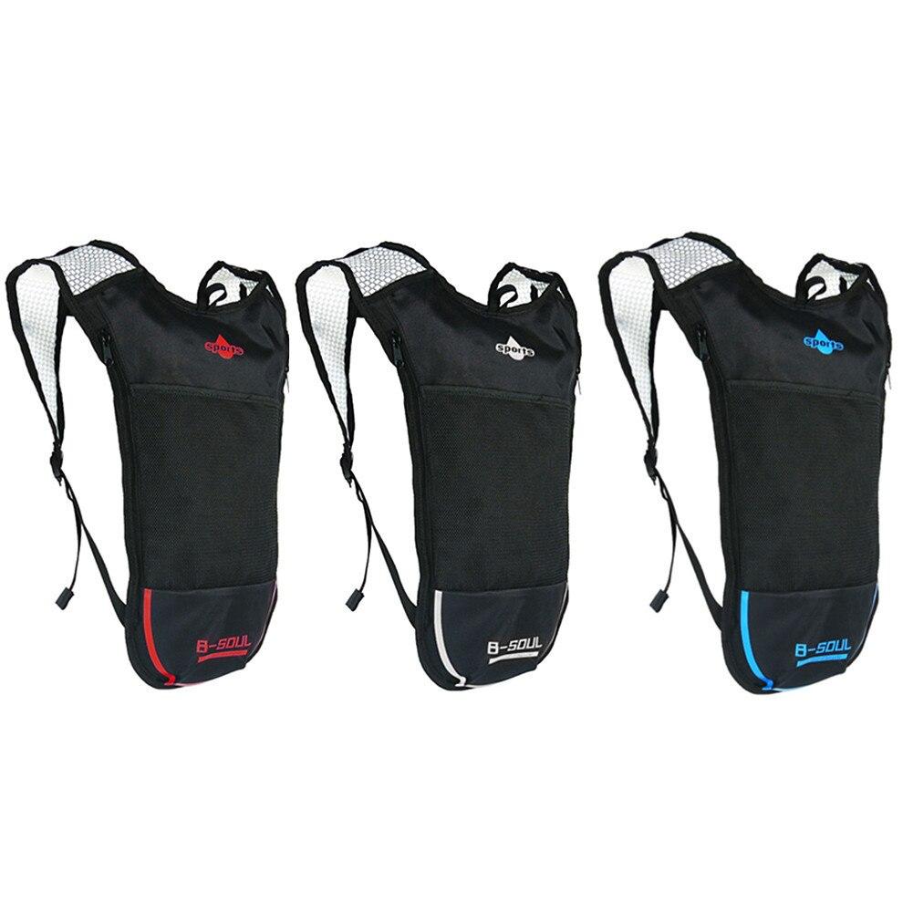 B - SOUL Cycling Backpack MTB 5L Bicycle Bag Outdoors Sport Running Backpacks Bike Bicycle Cycling Bag Bolsa Bicicleta