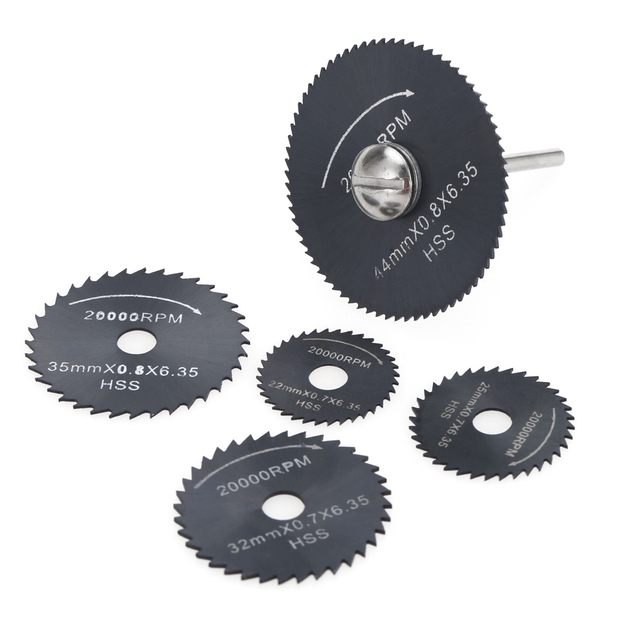 6pcs hss circular saw blades rotary cutting tools kit set with 18 6pcs hss circular saw blades rotary cutting tools kit set with 18 shank keyboard keysfo Choice Image