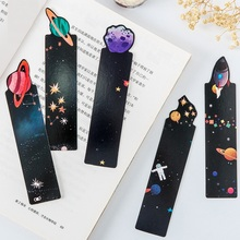 6 set/Lot Galaxy bookmarks Planet Space star book mark page holder Novelty Office School supplies marcapaginas FC960 sitemap 6 xml hrefpage hrefhref page 7