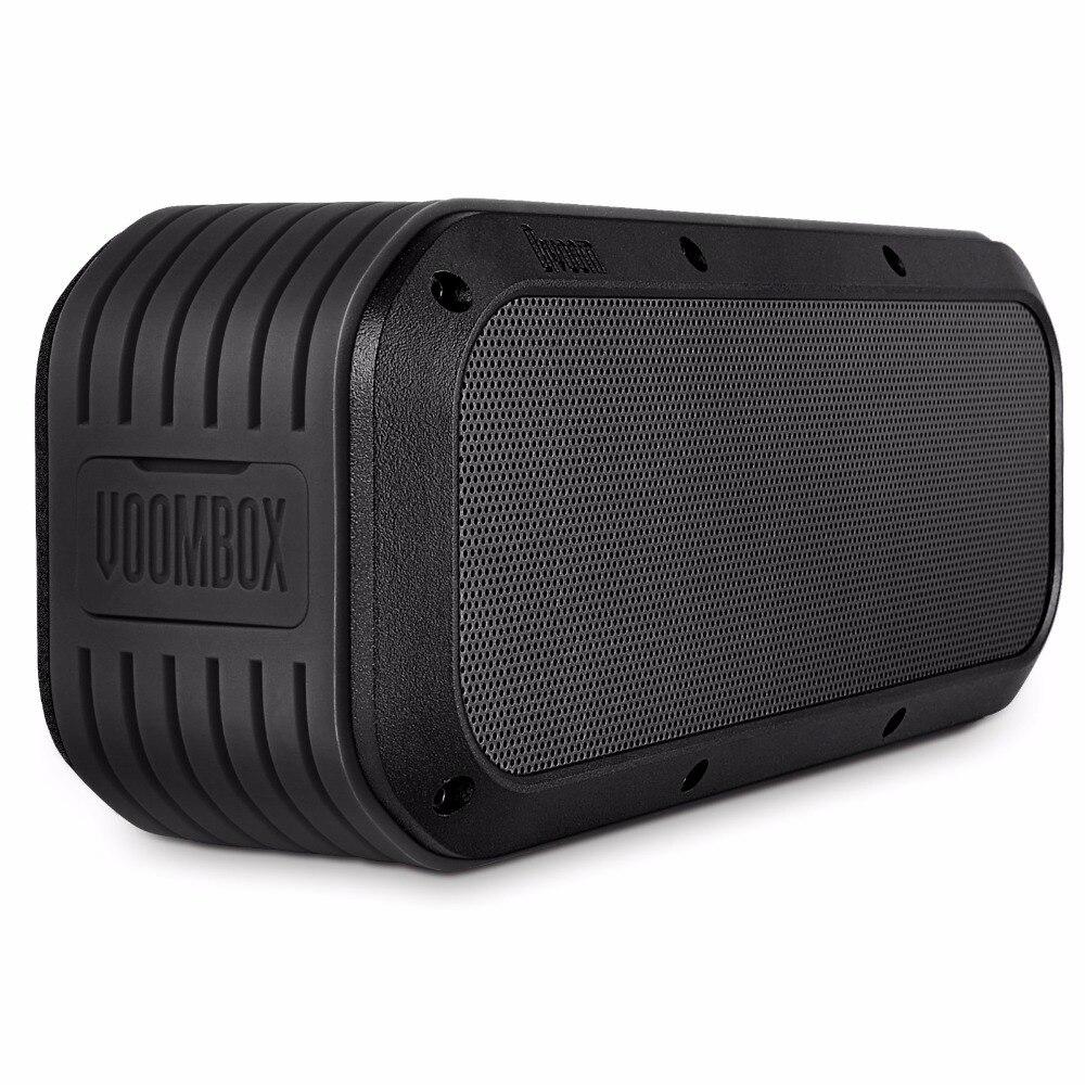 Divoom Voombox-sortie haut-parleurs bluetooth extérieurs résistants à l'eau en 15 W et 12 heures de lecture (noir)